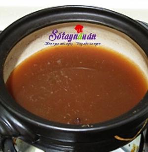 Cách nấu chè đậu đỏ thạch dừa