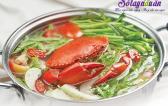 Nấu ăn món ngon mỗi ngày với Nước dùng, cách nấu lẩu cua lá me ngon