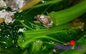 Nấu ăn món ngon mỗi ngày với Rau cải, Cách nấu canh cua rau cải