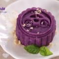 bơ tỏi, cách làm bánh trung thu khoai lang tím
