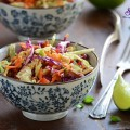trứng ốp, Cách làm salad rau trộn