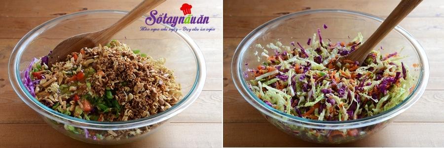 Cách làm salad rau trộn