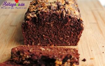 các món bánh, Cách làm bánh chocolate chuối