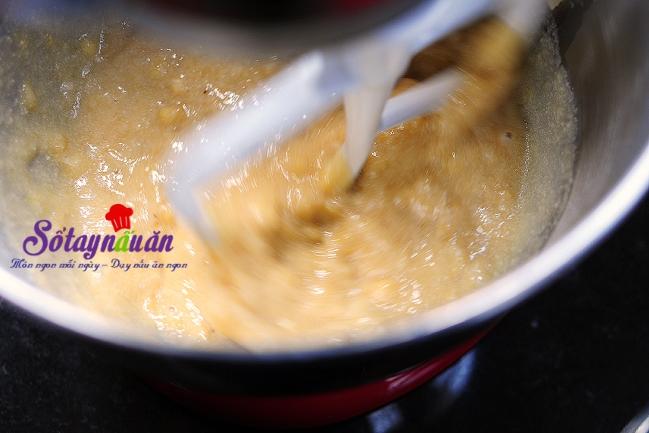 Cách làm bánh chocolate chuối