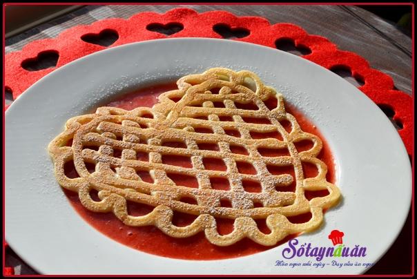 cách làm bánh pancake