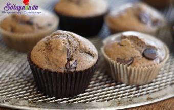 Cách làm bánh ngọt, Cách làm bánh muffin cà phê chocolate chip
