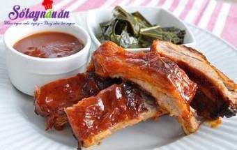 Nấu ăn món ngon mỗi ngày với Tương ớt, cách làm sườn nướng BBQ