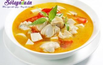 Nấu ăn món ngon mỗi ngày với Rau răm, cách nấu canh ngao