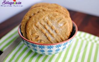 Nấu ăn món ngon mỗi ngày với Bột nở, cách làm bánh quy bơ lạc