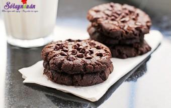 cách làm bánh, cách làm bánh quy chocolate chip