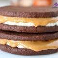 làm bánh quy, cách làm bánh quy kem chocolate