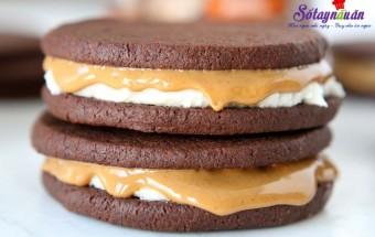 , cách làm bánh quy kem chocolate