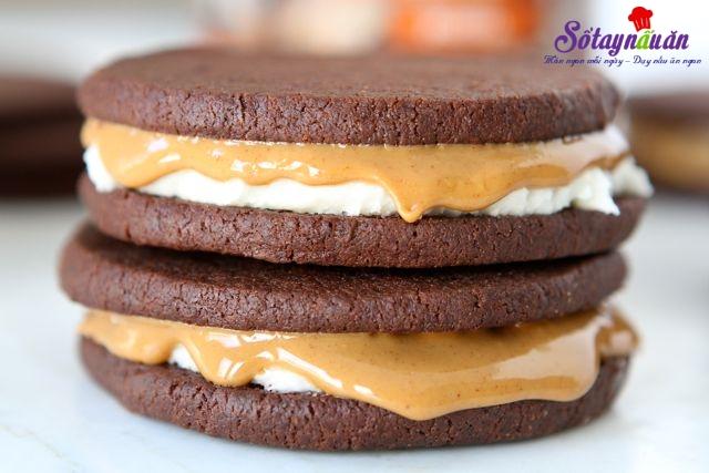 cách làm bánh quy kem chocolate