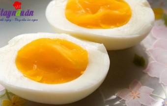 , Cách luộc trứng lòng đào ngon