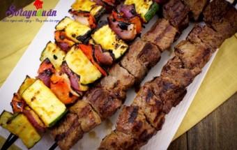 món nướng, cách ướp thịt bò nướng, ướp thịt nướng