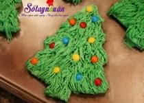 Thực đơn tiệc Noel – Cách làm bánh quy cây thông đón Noel