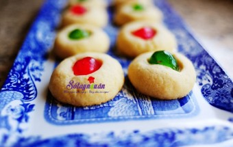 Nấu ăn món ngon mỗi ngày với Lòng đỏ trứng gà, cách làm bánh quy bơ cherry cho tiệc noel đón giáng sinh