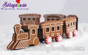 , cách làm bánh quy gừng đón giáng sinh, thực đơn tiệc noel