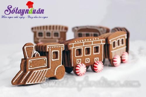 cách làm bánh quy gừng đón giáng sinh, thực đơn tiệc noel