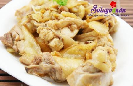 Cách nấu gà rang gừng sả ngon -  Naungon.com