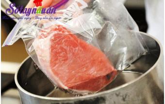mẹo vặt trong cuộc sống, nấu thịt rã đông