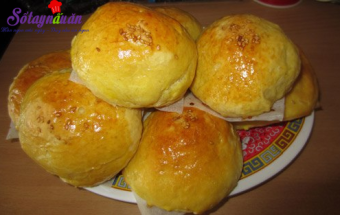 Nấu ăn món ngon mỗi ngày với Bột nở, tự làm bánh mì ngọt cho bữa sáng nhanh gọn