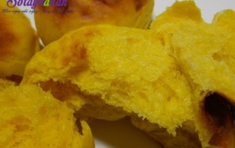 Nấu ăn món ngon mỗi ngày với Bột nở, bánh khoai lang nướng