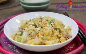 Nấu ăn món ngon mỗi ngày với Bột nghệ, Bắp cải xào thịt bò kiểu Thái