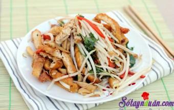 Nấu ăn món ngon mỗi ngày với Đậu phụ, Biến tấu đậu phụ xào giá