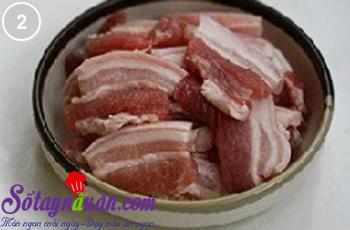 bùi bùi thịt hấp khoai môn 2