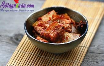 Nấu ăn món ngon mỗi ngày với Khoai môn, bùi bùi thịt hấp khoai môn