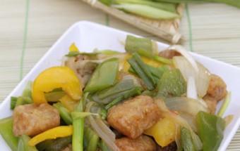 Nấu ăn món ngon mỗi ngày với Ớt chuông xanh, Cá rán xào chua ngọt