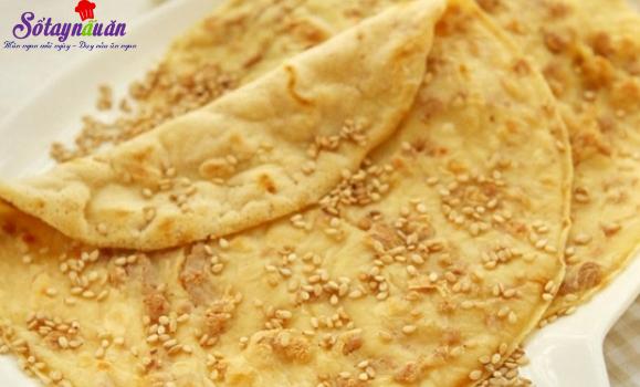 cách làm bánh bột mì vừng thơm ngon
