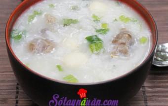 Nấu ăn món ngon mỗi ngày với Gạo tẻ, Cháo hạt sen nấu cùng bắp bò