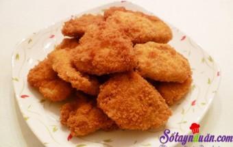 Nấu ăn món ngon mỗi ngày với Ức gà, Giòn tan thịt gà chiên xù