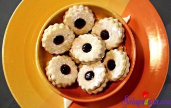 Nấu ăn món ngon mỗi ngày với Lòng đỏ trứng gà, bánh quy mắt mèo ngon miệng món ngon mỗi ngày
