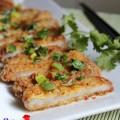 salad nga., Thịt chiên xù tẩm mật ong
