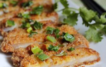 Nấu ăn món ngon mỗi ngày với muối tiêu, Thịt chiên xù tẩm mật ong