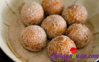 Nấu ăn món ngon mỗi ngày với Bột nở, Bánh khoai lang ngào đường