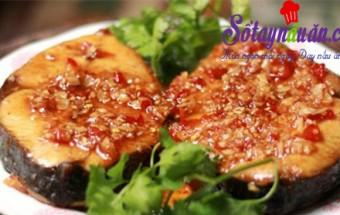 ẩm thực miền nam, Cá thu rim tỏi ớt