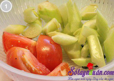 Canh nấm nấu chua 1