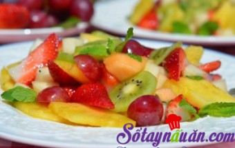 mẹo vặt trong cuộc sống, Chế biến trái cây trong món ăn 1