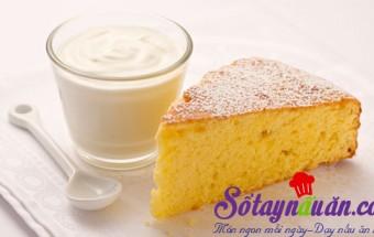 Nấu ăn món ngon mỗi ngày với Sữa, Công thức bánh bông lan cơ bản 1