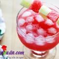 trà trái cây, Công thức pha nước dưa hấu mới lạ