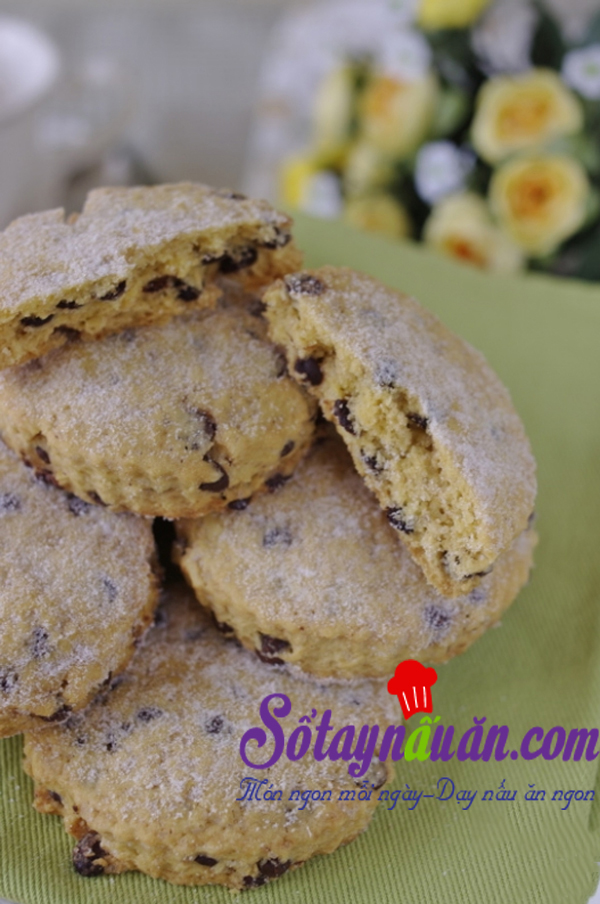 Cookie chocolate chip giòn tan