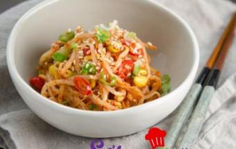 Nấu ăn món ngon mỗi ngày với Xì dầu nấu súp Hàn Quốc, Kim chi giá đỗ