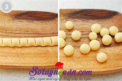 Trổ tài làm bánh gạo sốt kem nấm 3