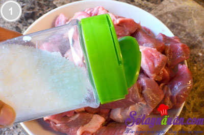 Bò hầm cà ri nước cốt dừa 1