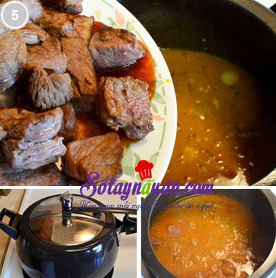 Bò hầm cà ri nước cốt dừa 5