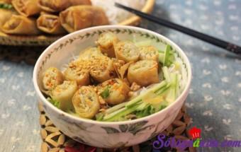 Nấu ăn món ngon mỗi ngày với Thịt nạc xay, Bún nem mới lạ